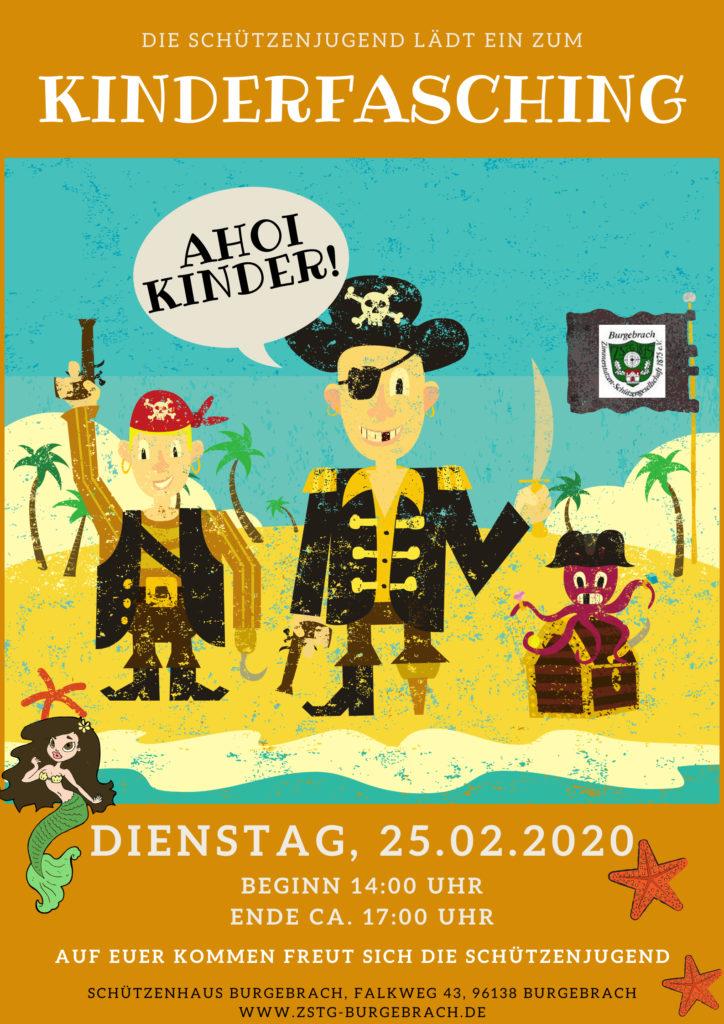Kinderfasching 2020 im Schützenhaus Burgebrach