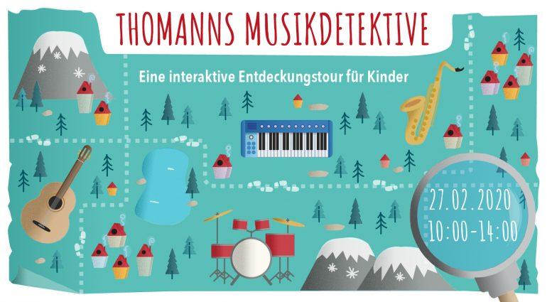 Thomanns Musikdetektive auf Schatzsuche