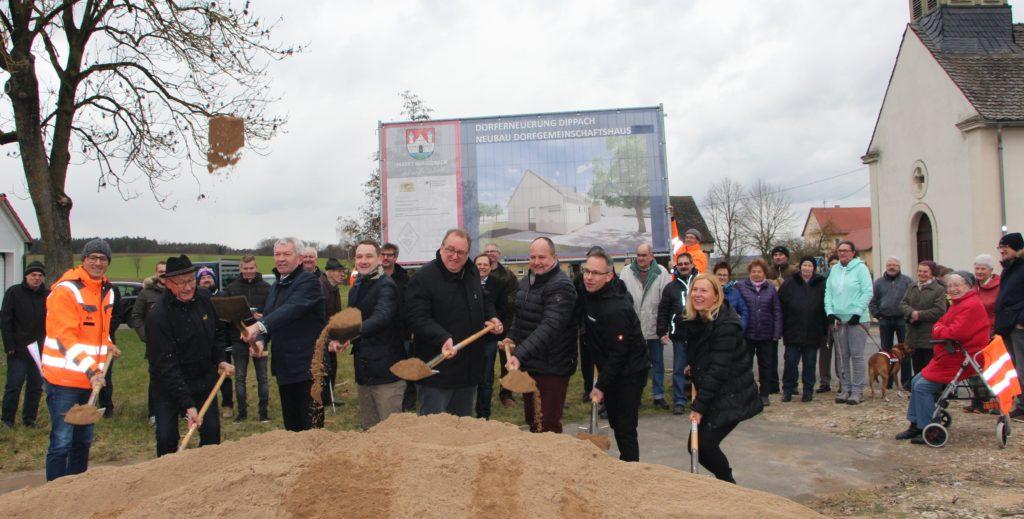 Dorferneuerung in Dippach startet