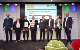 Auszeichnungen für die Grundschule Burgebrach