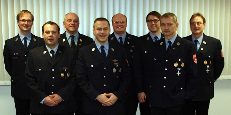 Neuwahlen bei der Feuerwehr Burgebrach