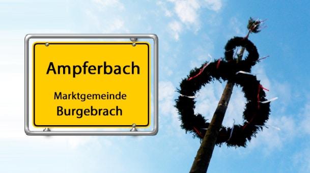 Ampferbach eröffnet Burgebracher Kerwajahr