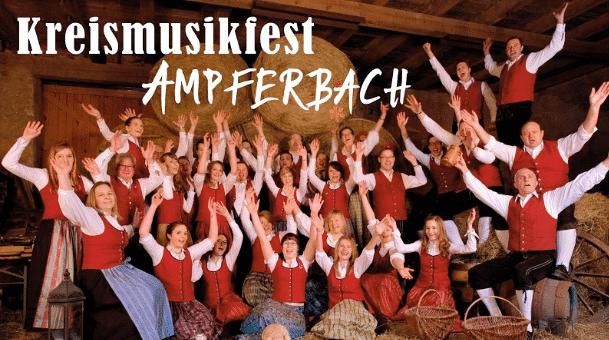 Kreismusikfest Ampferbach zum Vereinsjubiläum