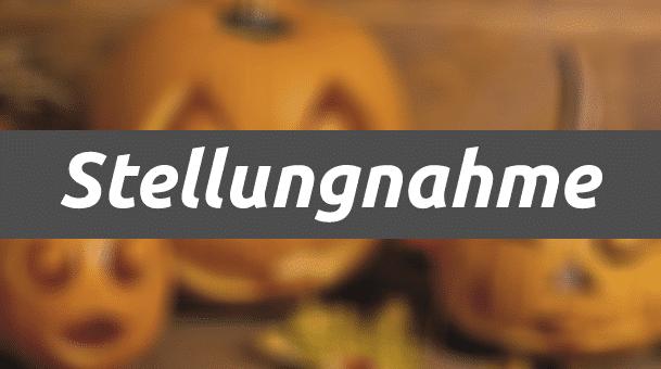 Stellungnahme: Halloween